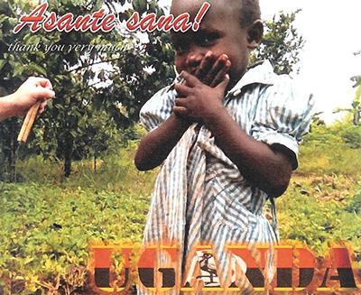 Young boy from Uganda